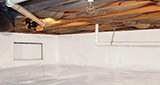 Crawl space moisture control and structural repair in Greater Billings & Missoula